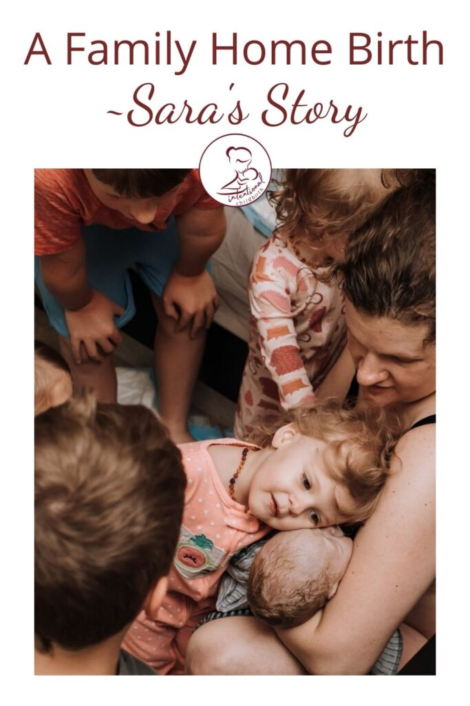 Sara's story is an amazing example of a family home birth, where all the siblings were involved and present. As a student midwife herself, birth is another part of life for Sara's children, so having them involved flowed very naturally in the birth of their baby boy Shepherd.