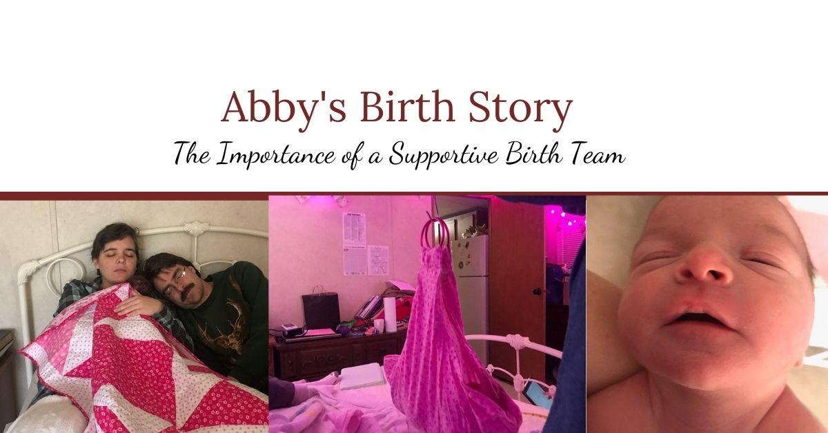 Abby's Home Birth